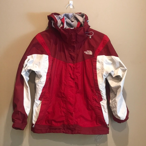 The North Face Jackets & Blazers - North Face Hyvent Coat  Red Maroon White Med